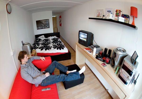 A Thousand Strong Amsterdam S Keetwonen Student Housing
