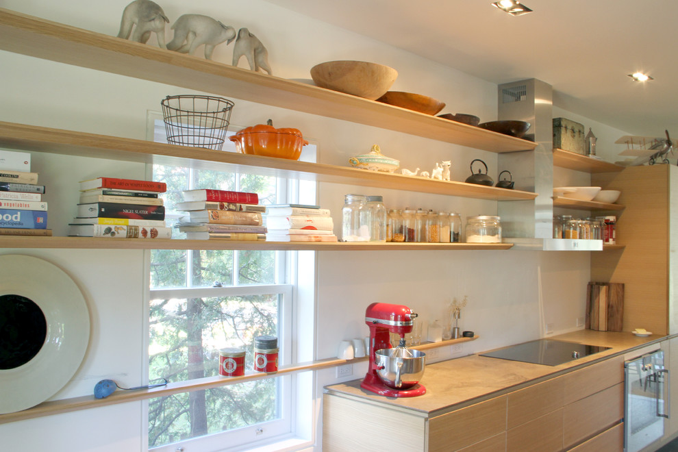 Shelving Storage Ideas In The Kitchen.