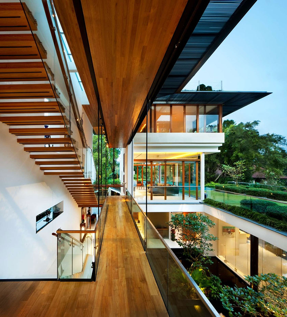 The Tropical Dalvey Road House In Singapore By Guz Architects Livin Spaces
