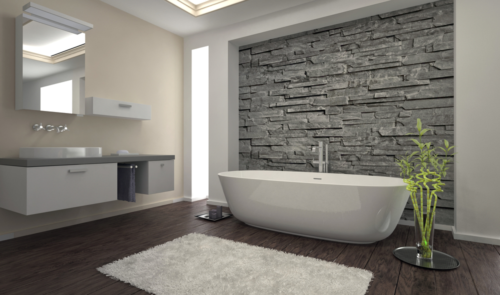 Angling for an industrial effect is popular with urban bathrooms, which seem to channel their environmental surroundings. Texture is key in an industrial ...