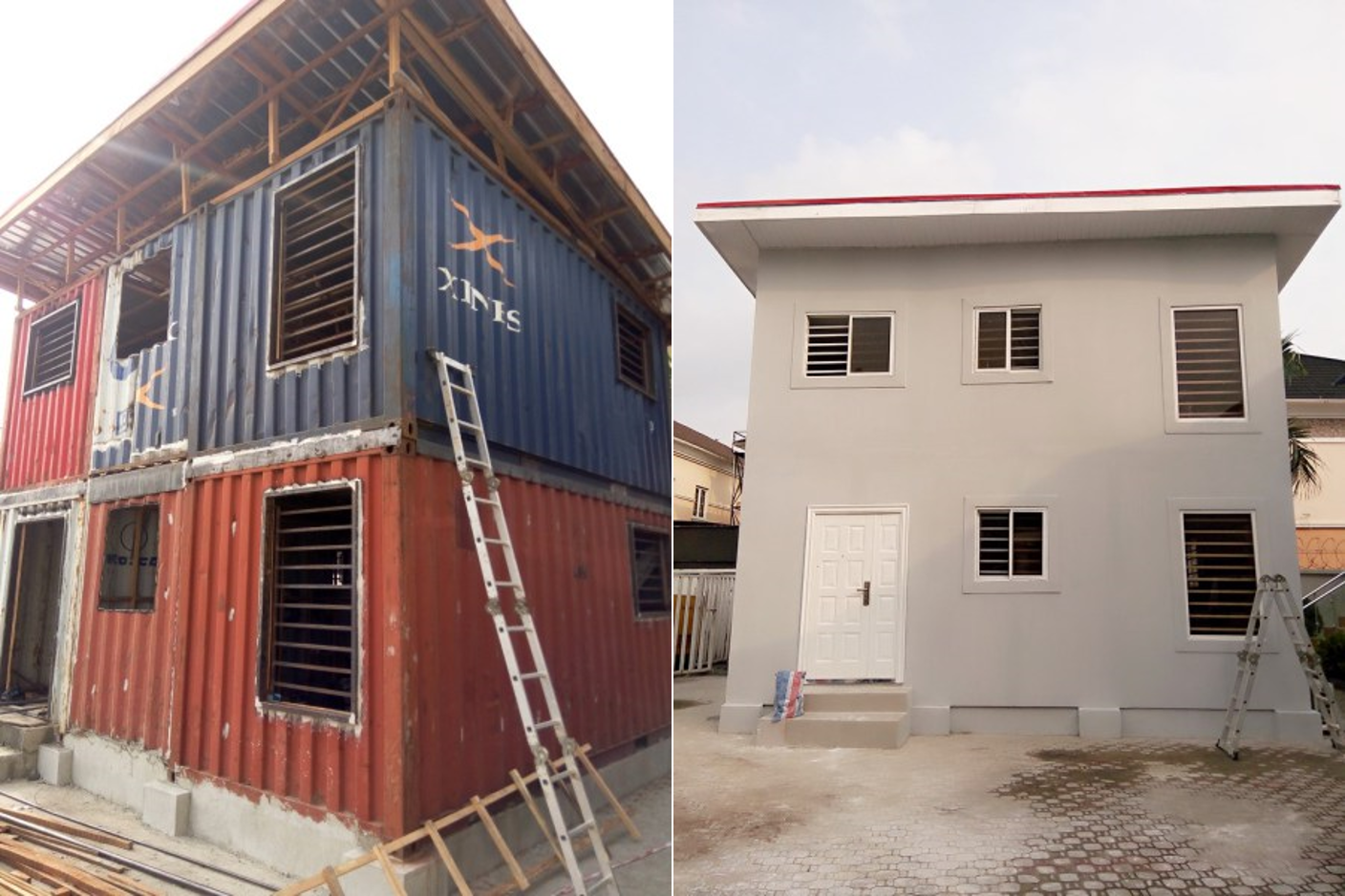 Modern Primary School Classroom ~ Tempohousing transforms shipping containers to homes for