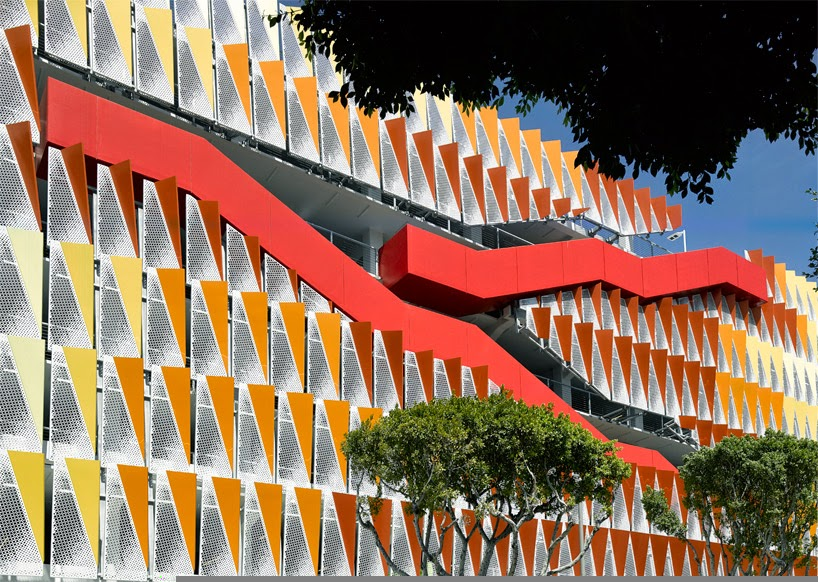 A Vibrant Parking Structure in Santa Monica