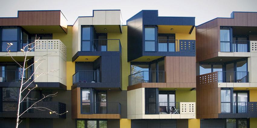 Blocks Of Flats Tetris Apartments In Slovenia By Ofis
