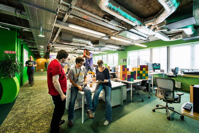 Inside the new google tel aviv office office snapshots
