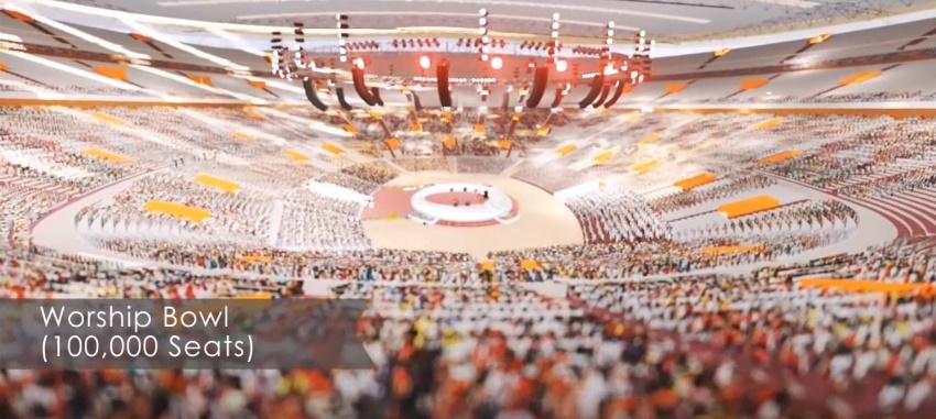 FAITH THEATRE PROJECT(100,000 Seat Stadium-Like Sanctuary) Living Faith Church Worldwide 2015 2944