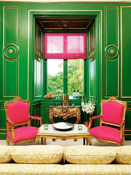 pink-green-glamorous-interior