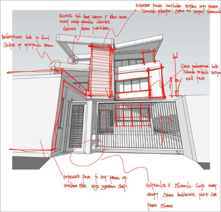 scissor house sketch 2