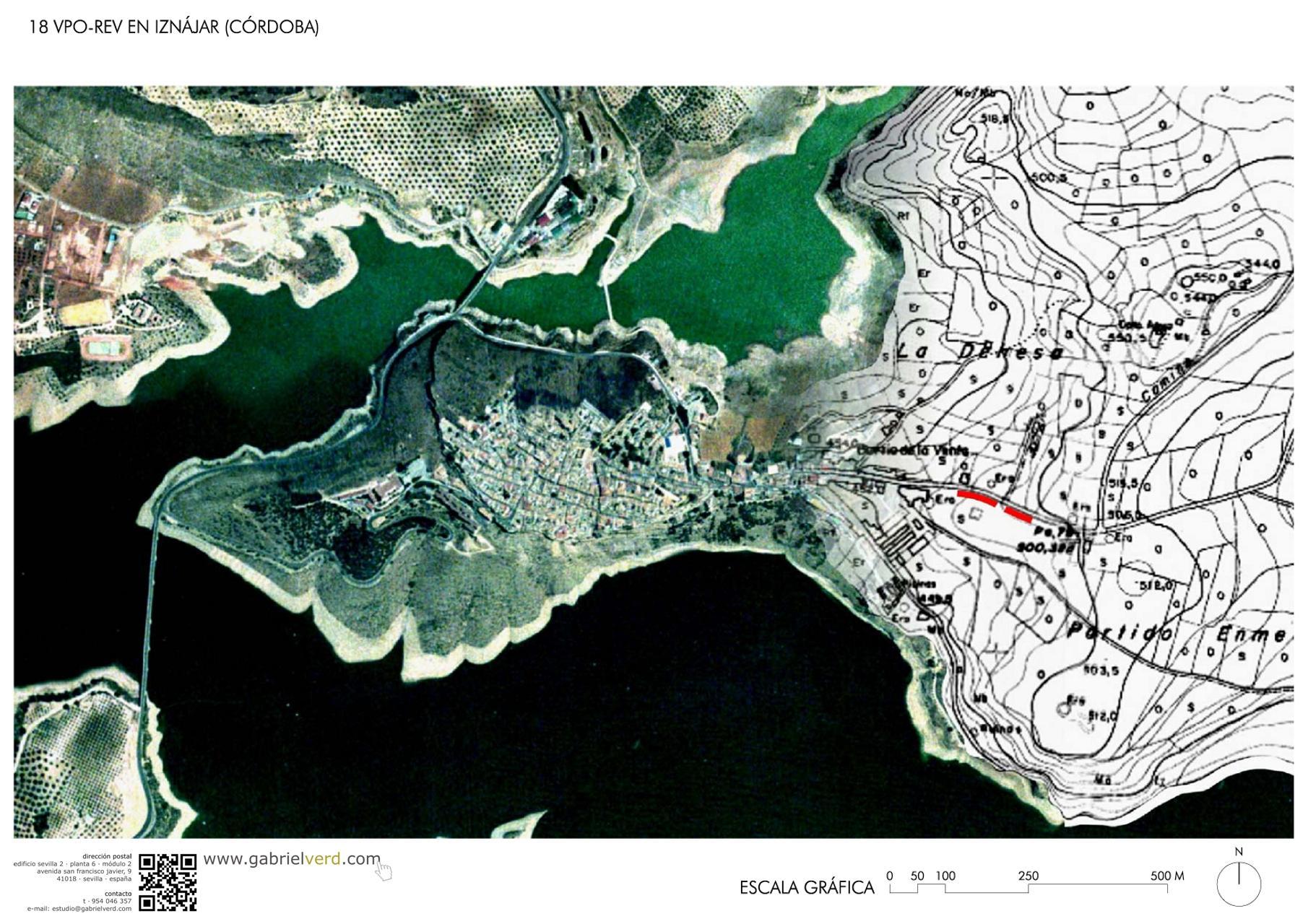 CORDOVA SOCIAL HOUSING LOCATION MAP