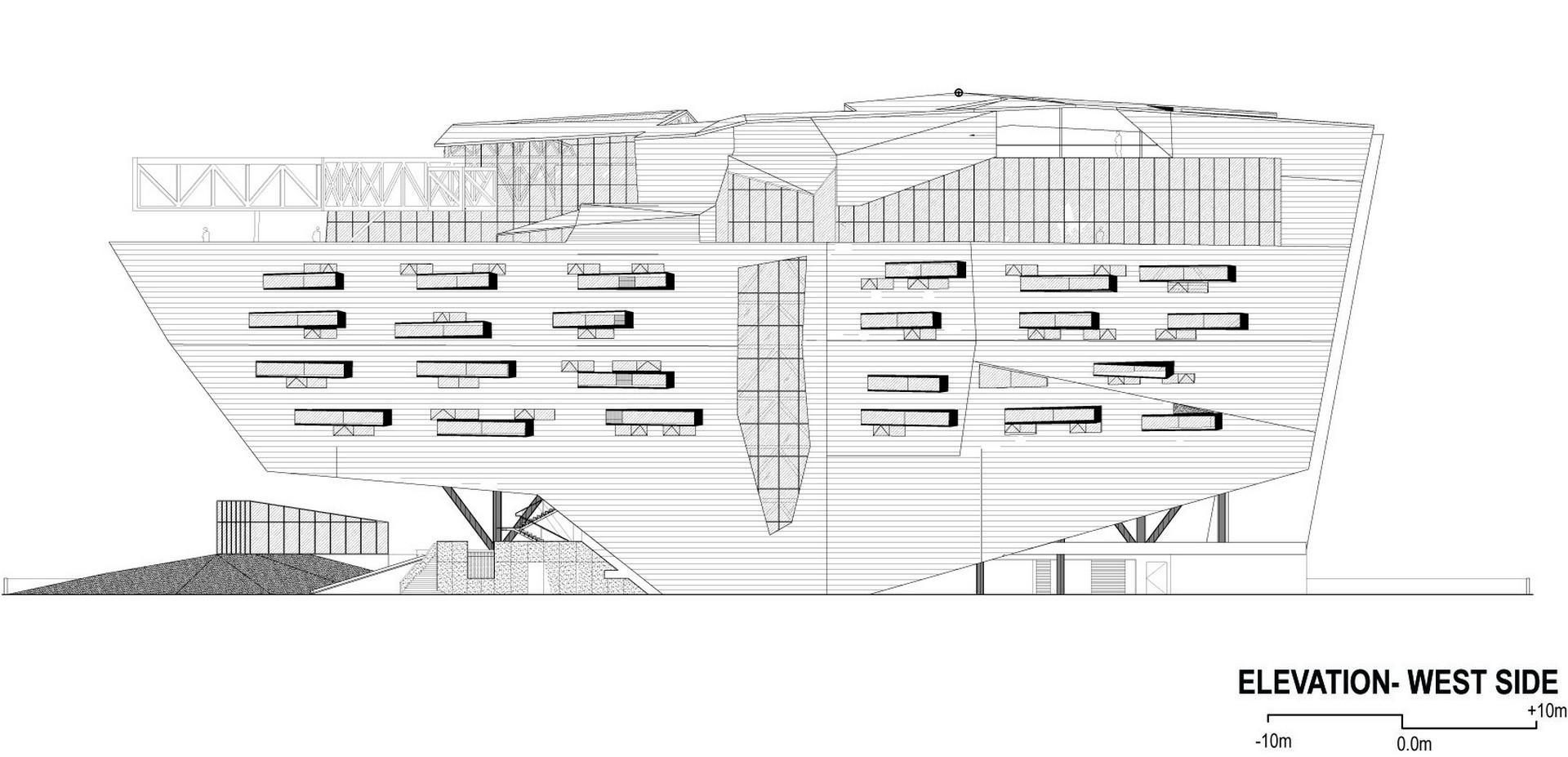 GMS Grande Palladium elevation 2