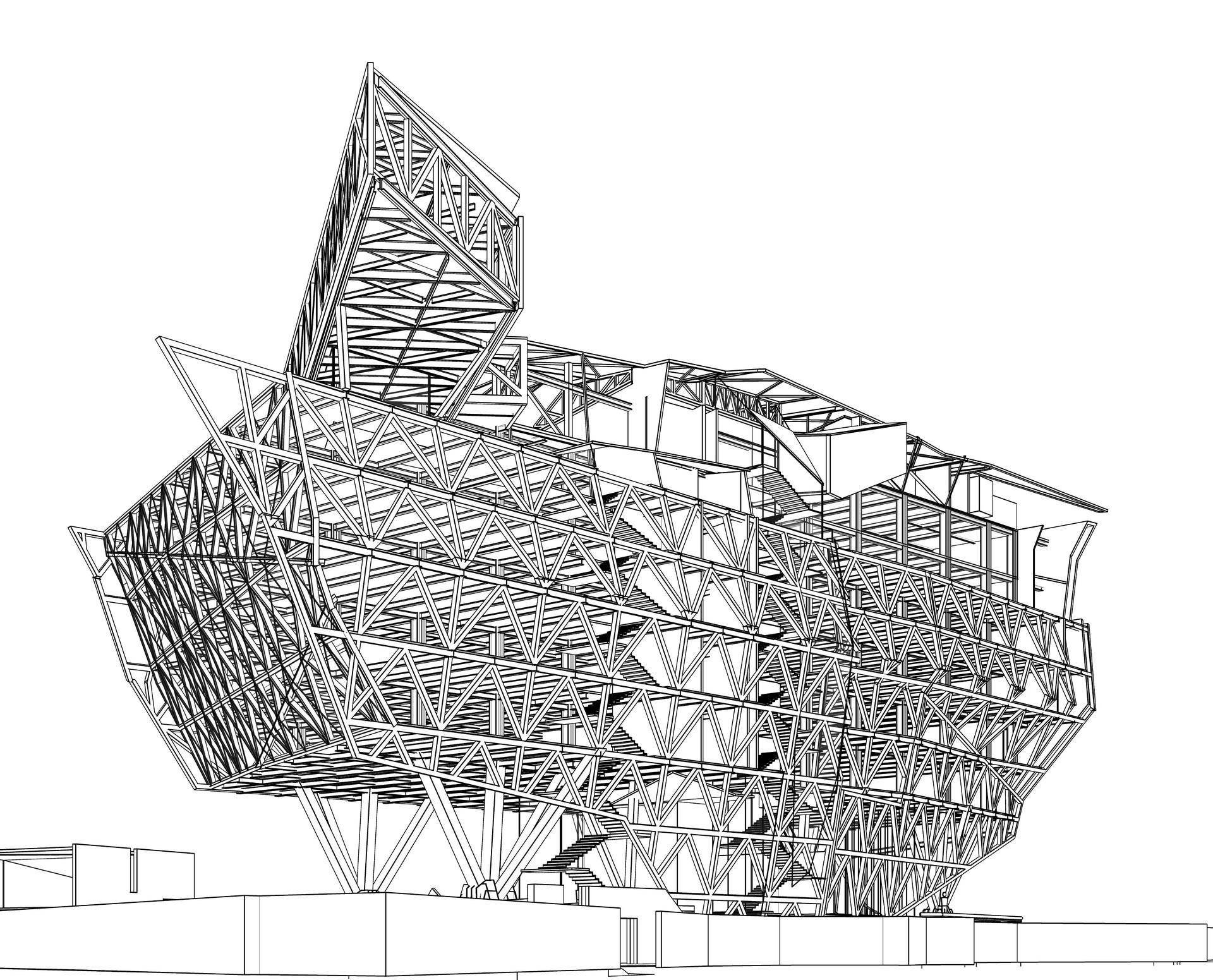 GMS Grande Palladium structural framing