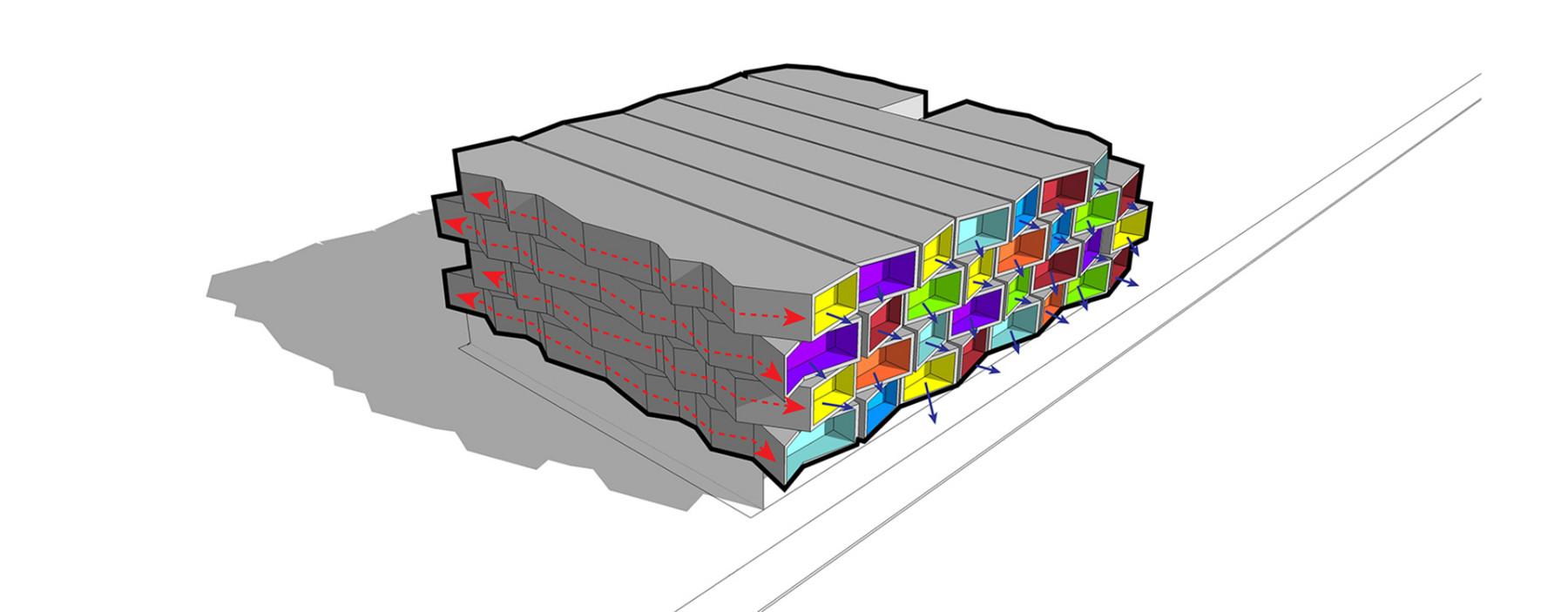 Spectrum Apartments concept 7