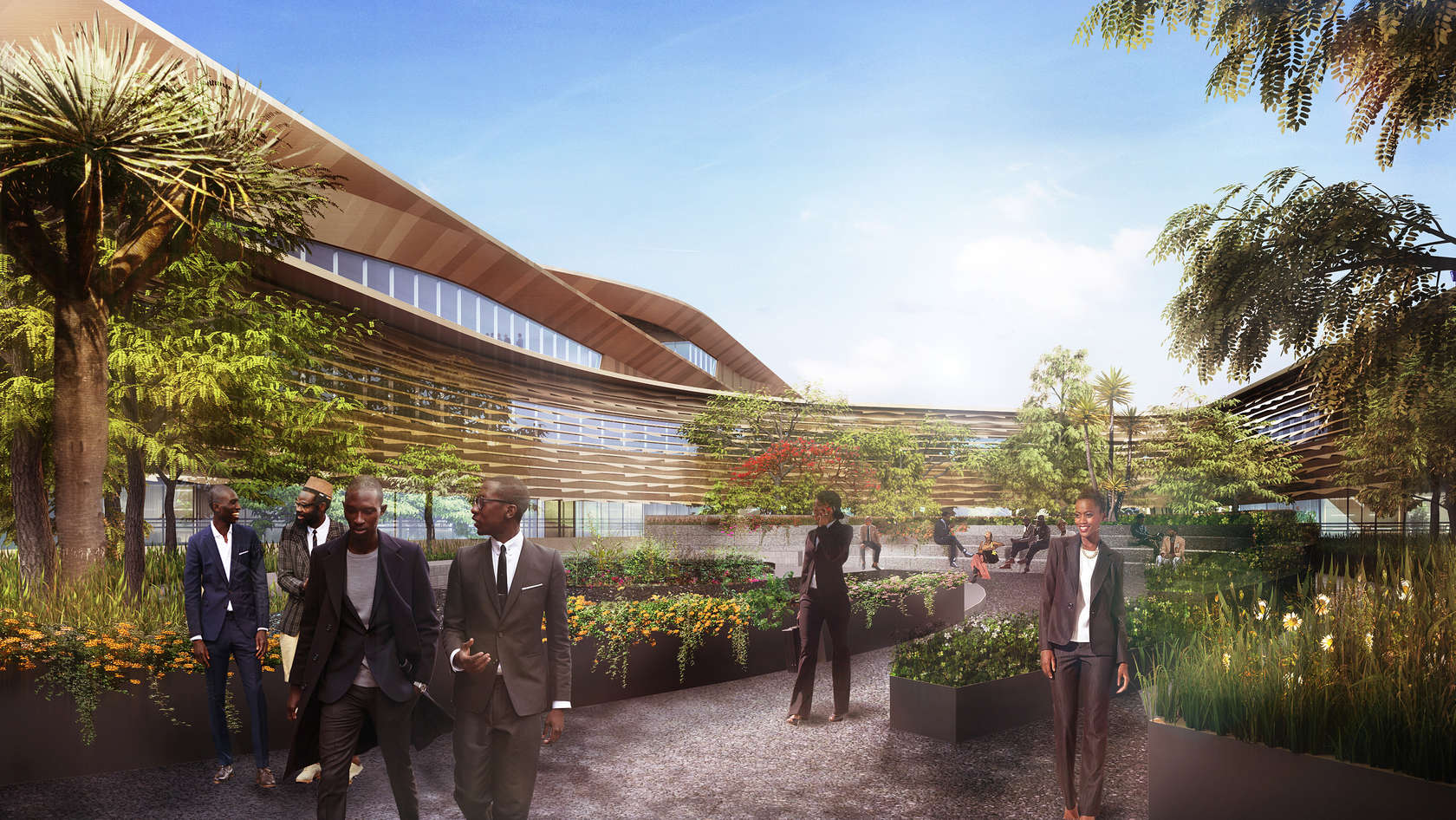 The Botswana Innovation Hub In Gabarone By Shop Architects