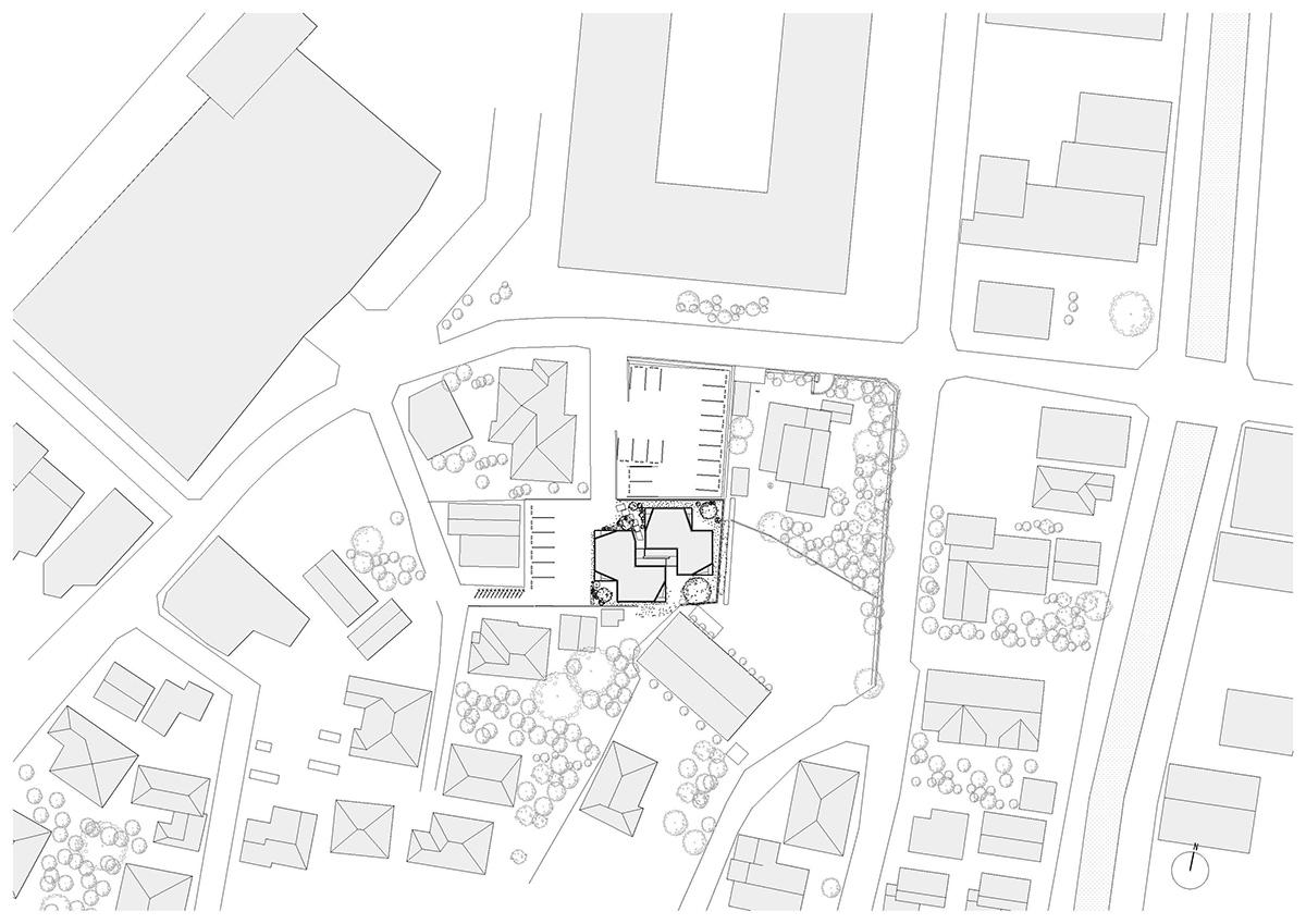 fukuoka apartment complex plan 1