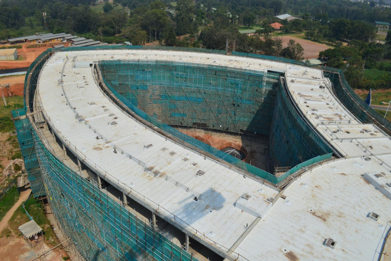 kigali convention center under construction 2