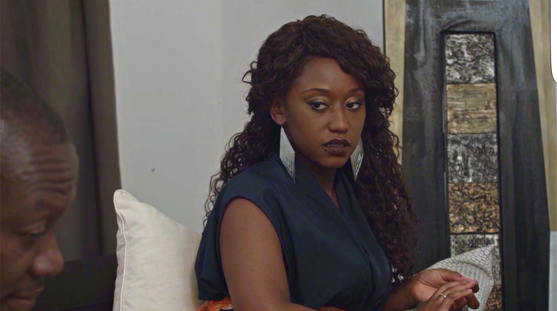 Actress Nana Mensah who plays the sultry yet vulnerable Sade.