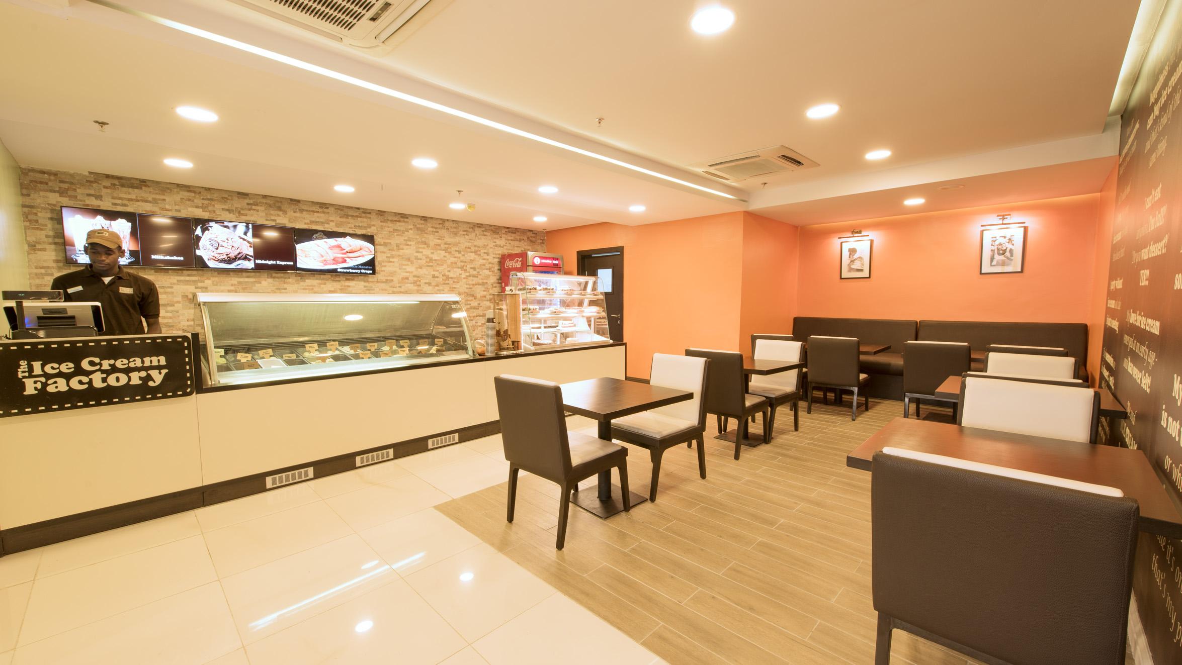 Ice cream factory maryland shopping mall