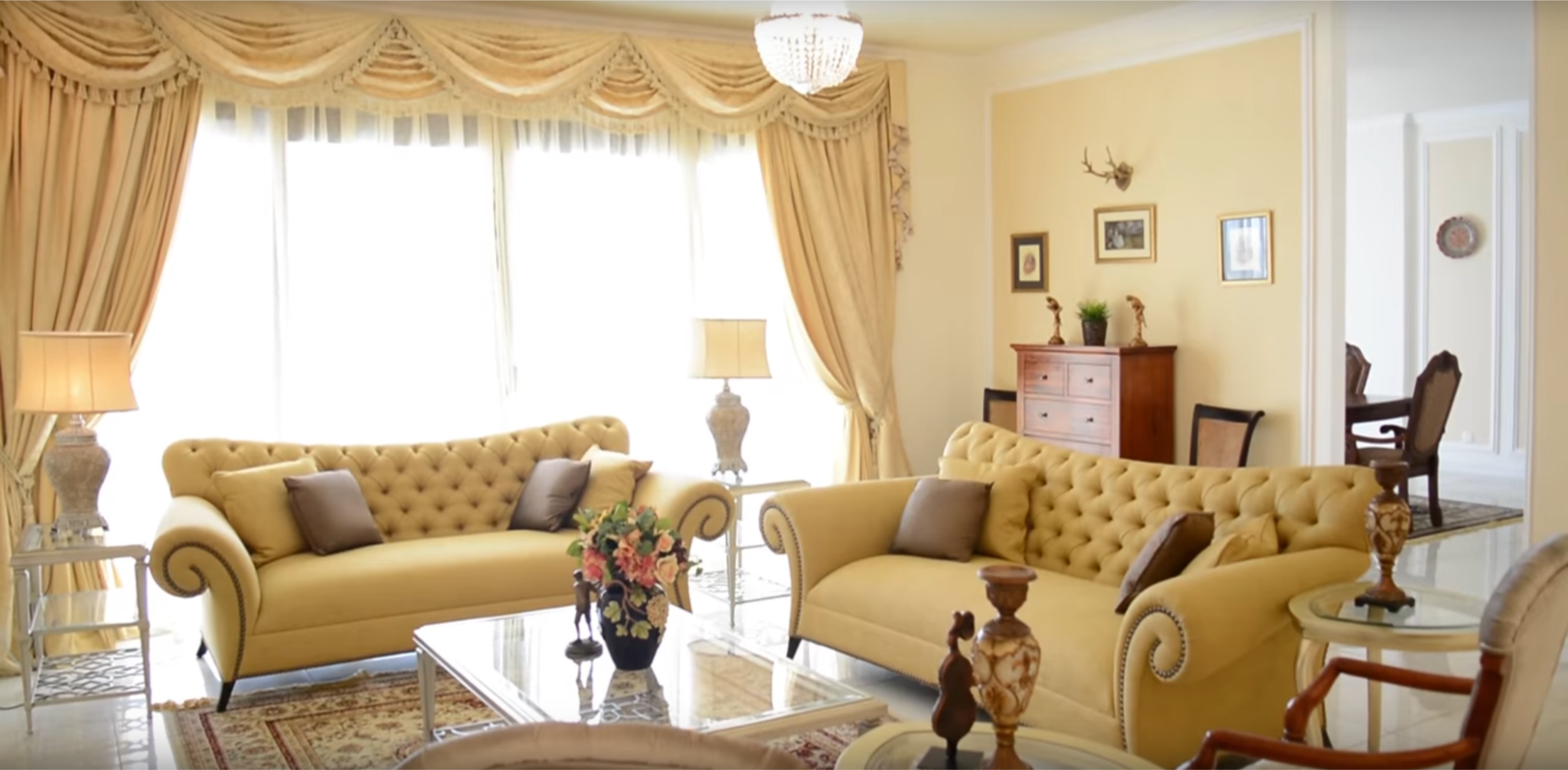 An Old English Luxury Apartment in Lagos by Essential Interiors Consultancy