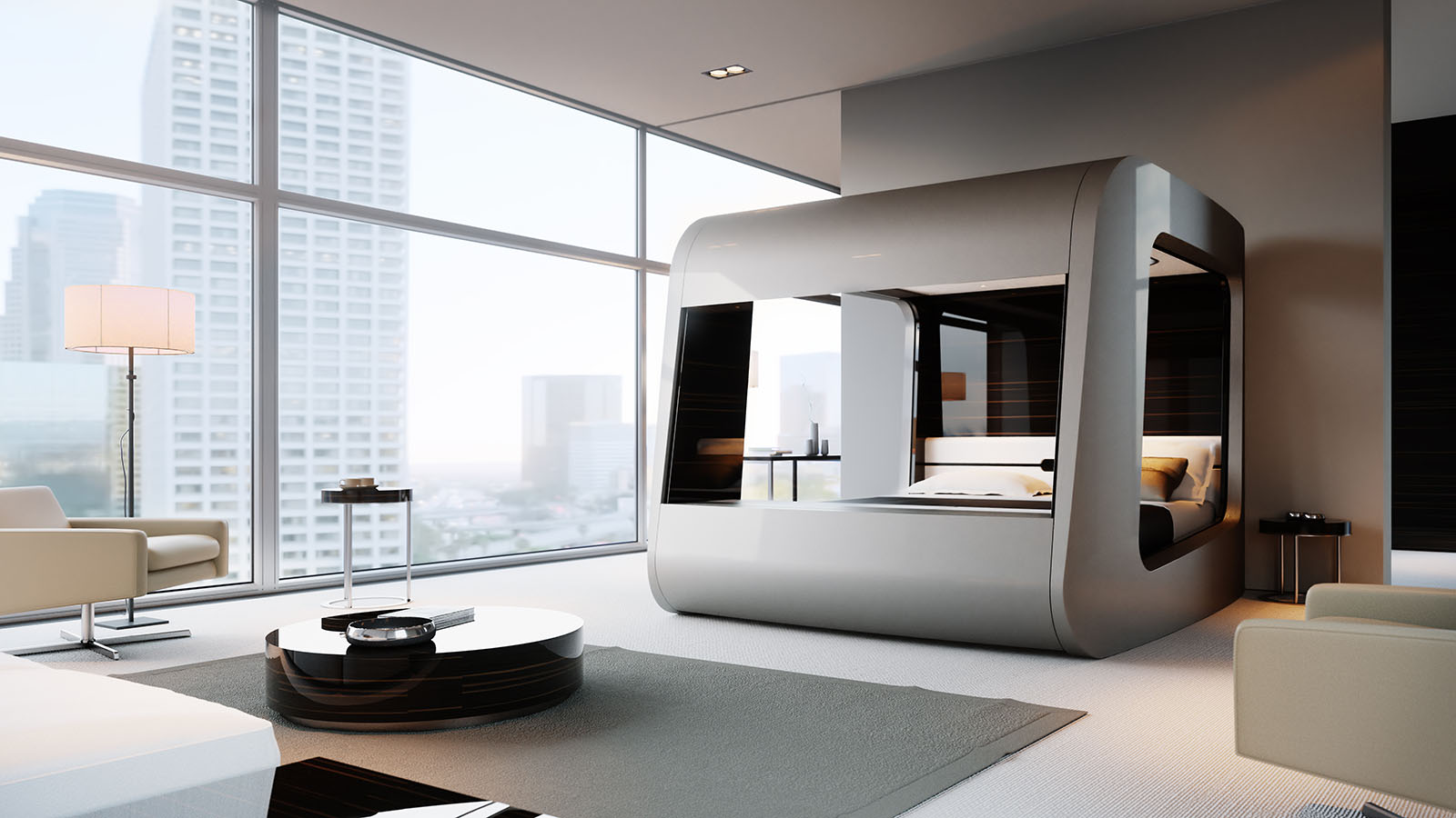 Hican The World S Most Revolutionary Smart Bed