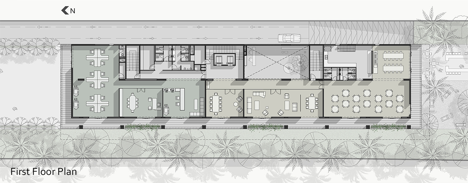 Otunba Offices Design Proposal In Lagos By Domaine Public Architects