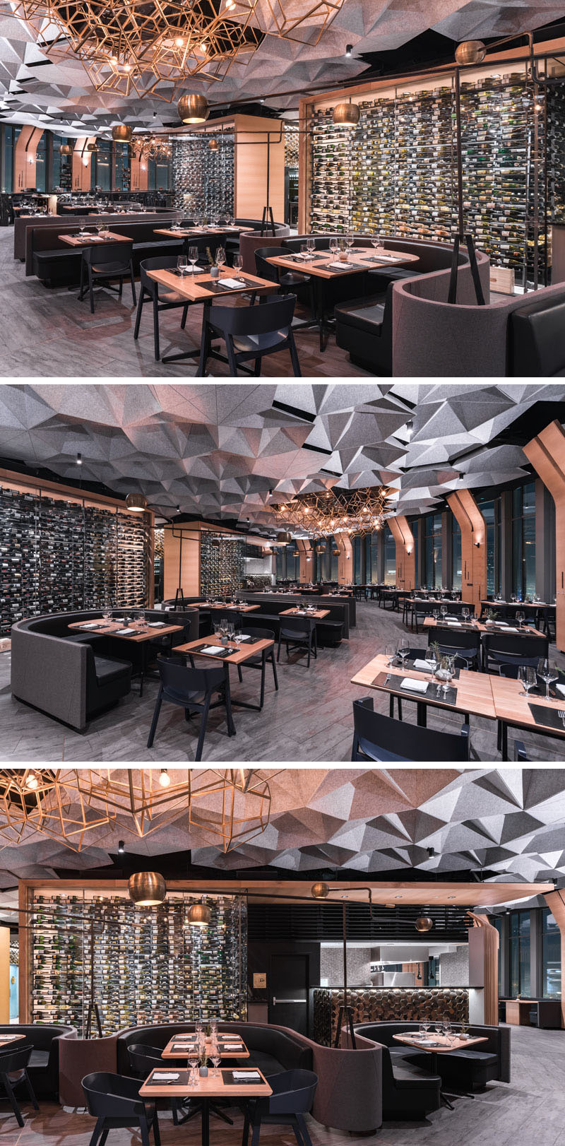 The 71 Above Restaurant in California by Tag Front Architects.