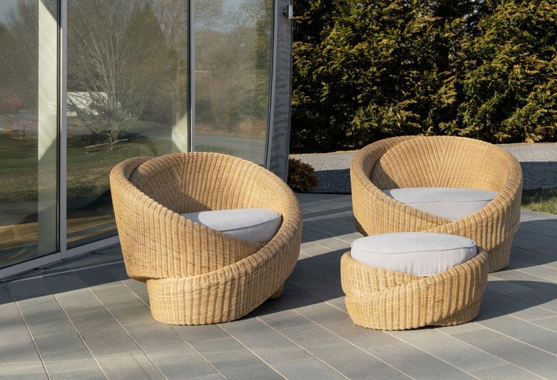 Rattan Furniture by NEA Studio