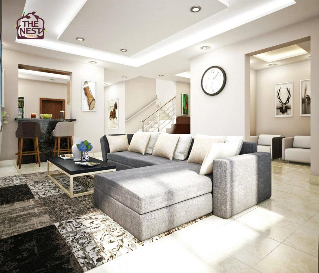 thrive 4 bedroom plus 1bq living room