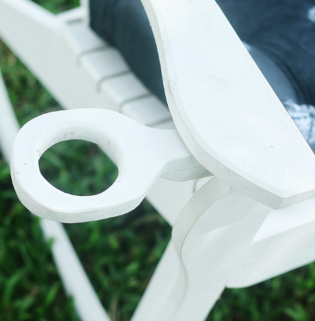 Olufemi rocking chair by vo3 designs outdoor furniture