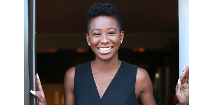 Samantha Josaphat is an African American Architect who is working to change the fact that less than 1% of registered architects in the U.S. are Black women.