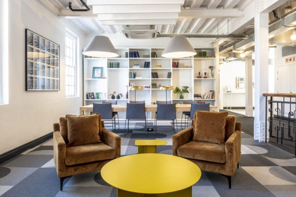 Indoor office space