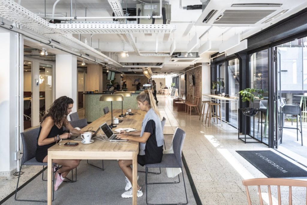 Indoor shared cafe