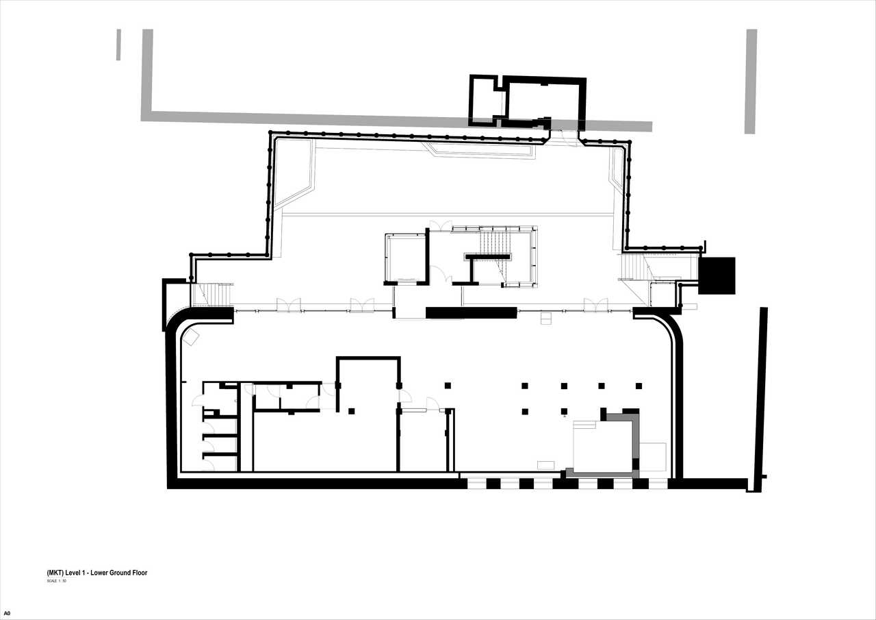 32 on Kloof floor plan 1 - lower ground floor