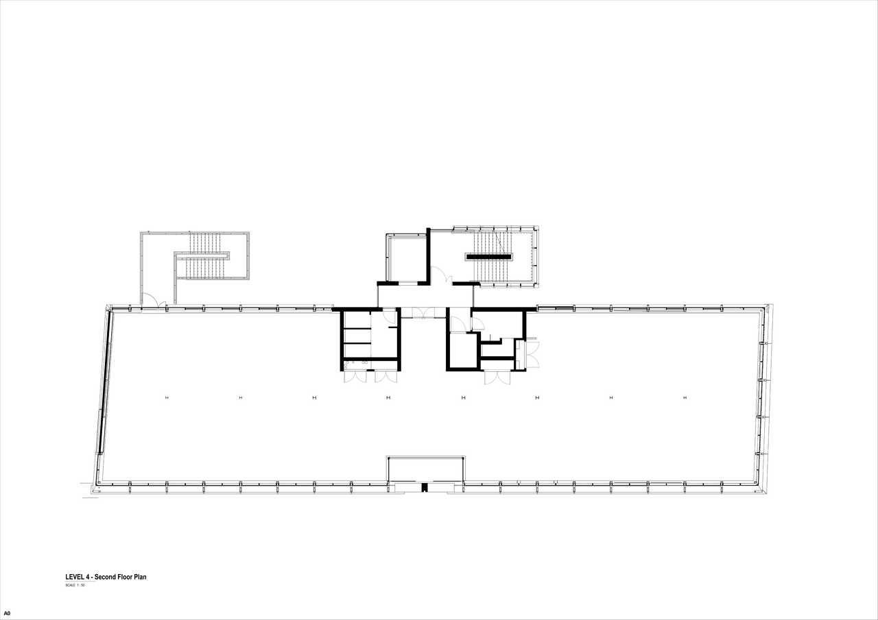 32 on Kloof floor plan 4 - second floor