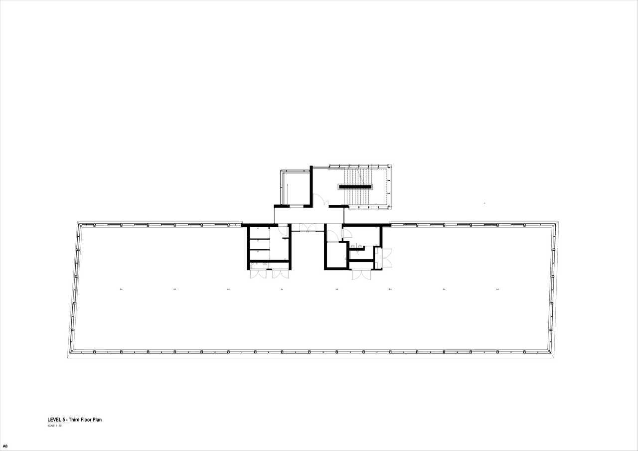 32 on Kloof floor plan 5 - Third floor