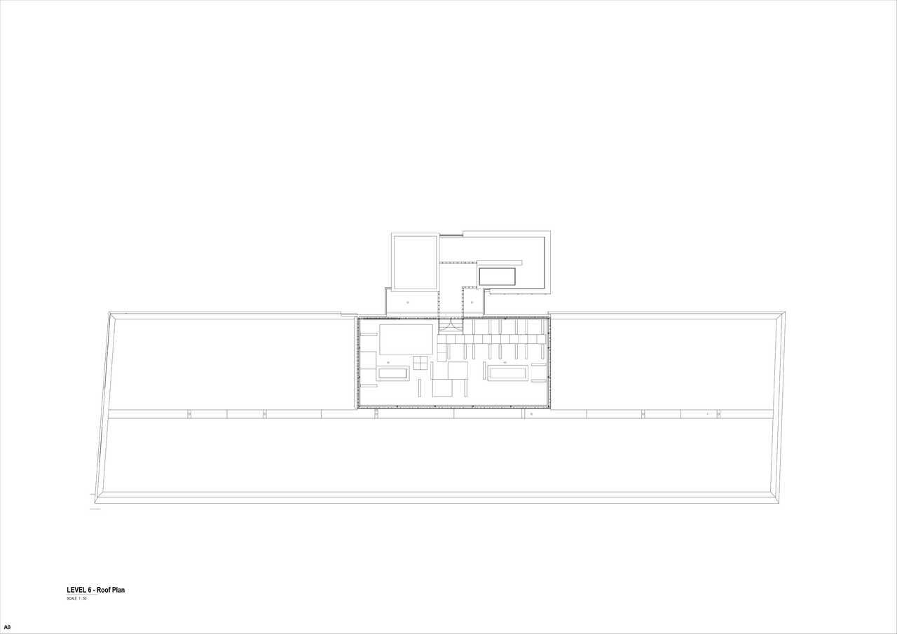 32 on Kloof floor plan 3 - roof floor