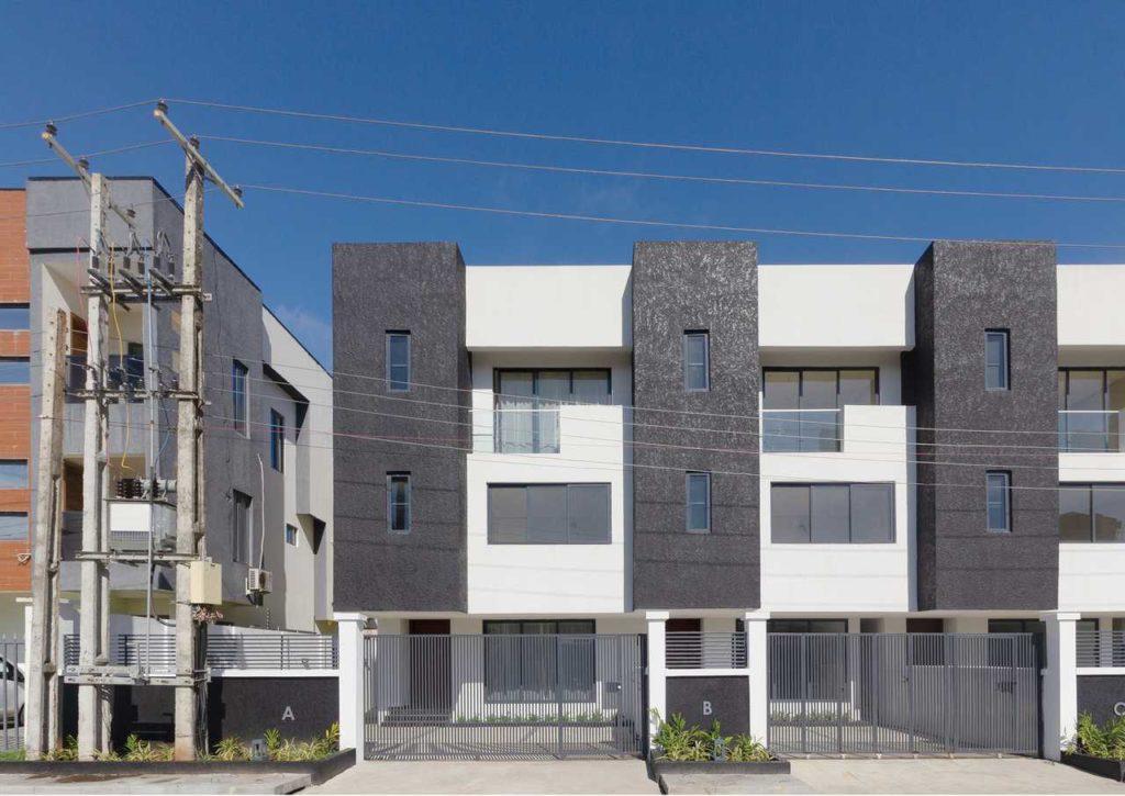 A Minimalist 4-Bedroom Terrace house development in Lagos by cmDesign Atelier 02