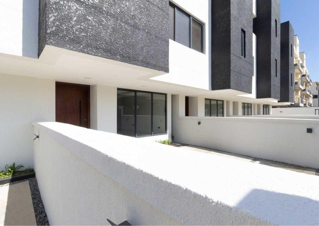 A Minimalist 4-Bedroom Terrace house development in Lagos by cmDesign Atelier 04