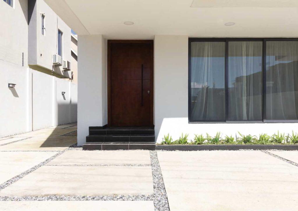 A Minimalist 4-Bedroom Terrace housing development in Lagos by cmDesign Atelier 05