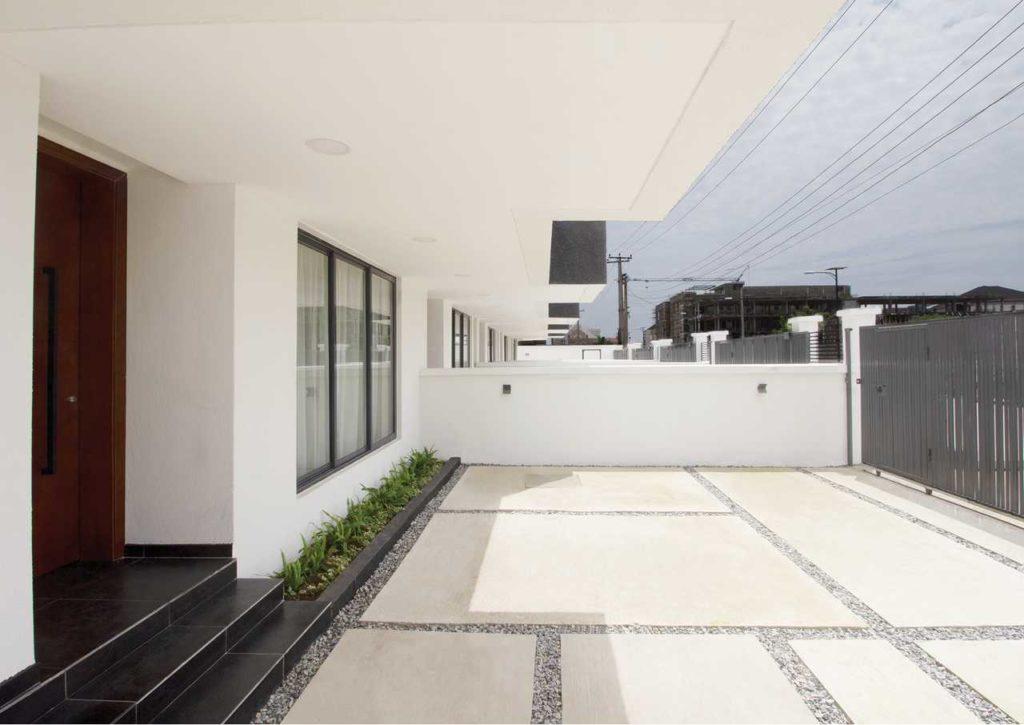 A Minimalist 4-Bedroom Terrace housing development in Lagos by cmDesign Atelier 06
