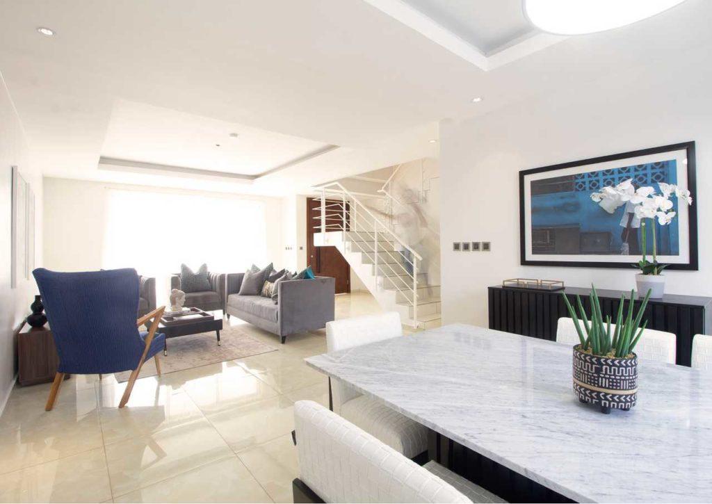A Minimalist 4-Bedroom Terrace housing development in Lagos by cmDesign Atelier 11