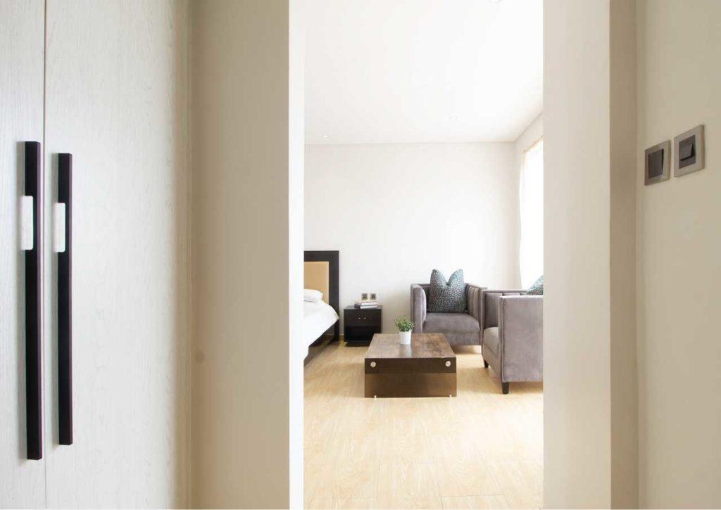 A Minimalist 4-Bedroom Terrace housing development in Lagos by cmDesign Atelier 17
