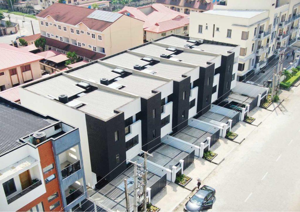 A Minimalist 4-Bedroom Terrace housing development in Lagos by cmDesign Atelier 26
