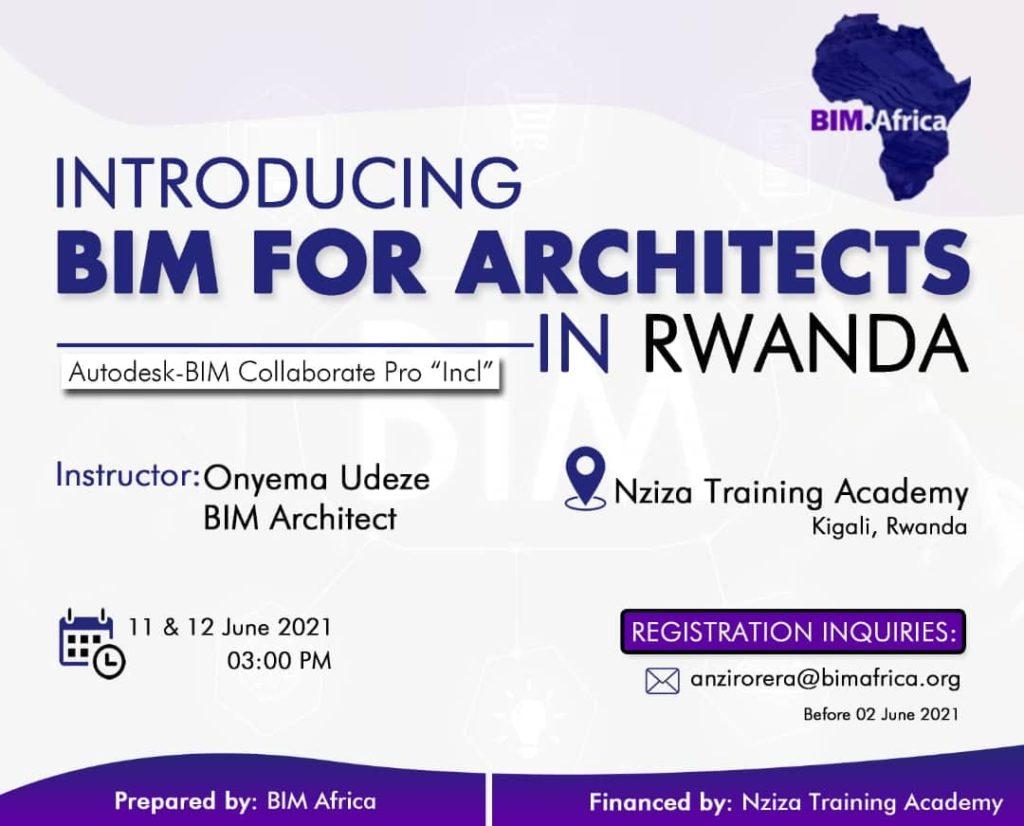 BIM Africa launches BIM for Architects in Rwanda