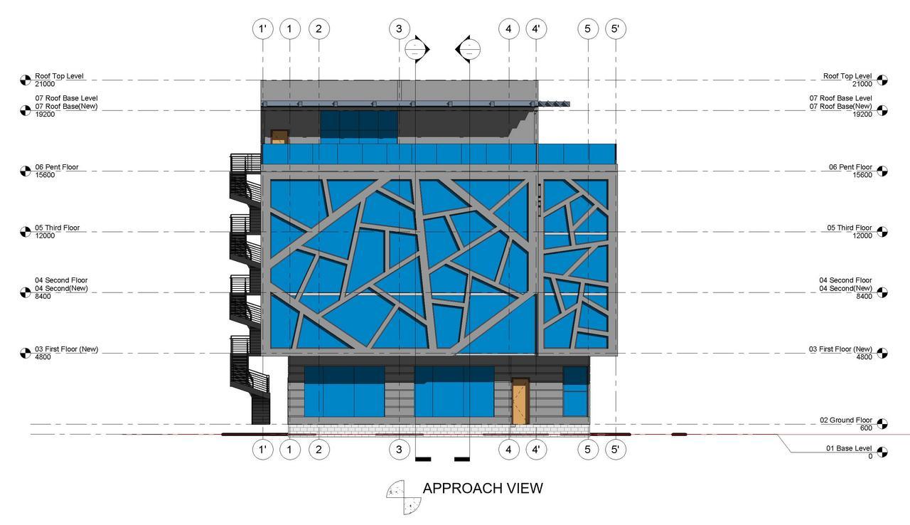 M&G Office Building_Akinwale_Arokodare_elevation 1