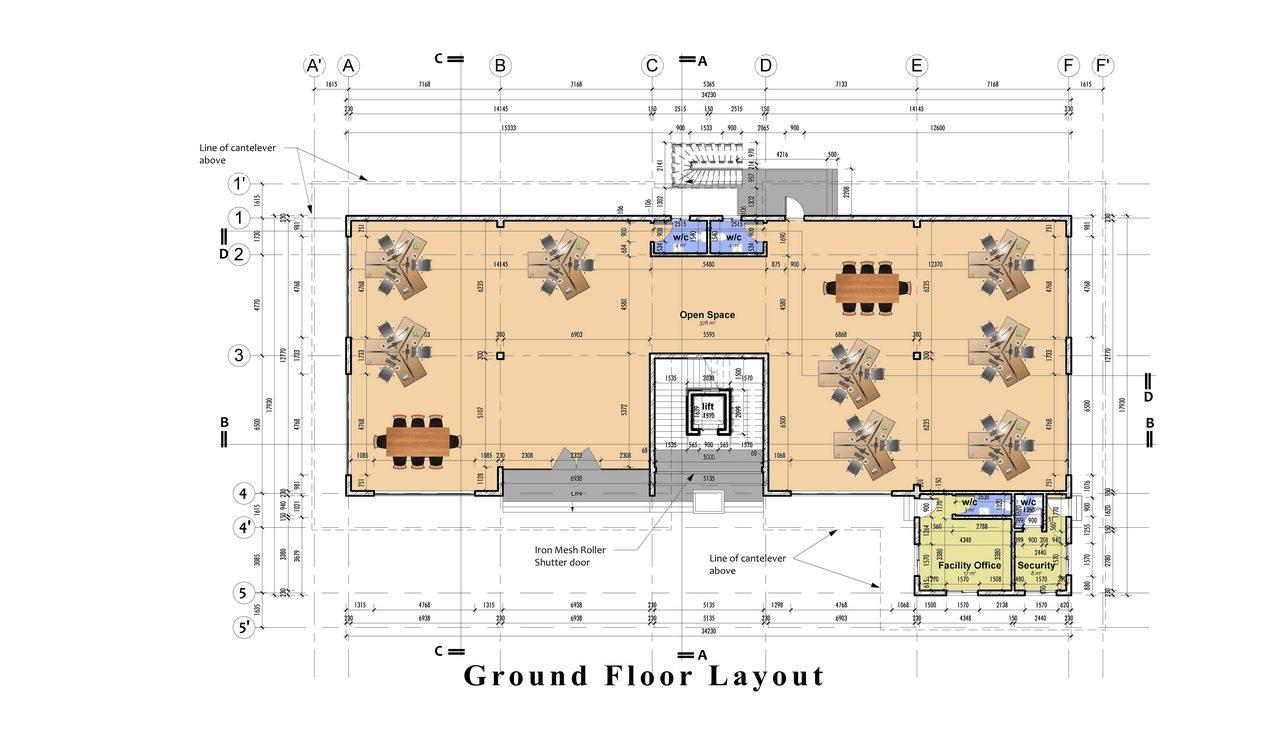 M&G Office Building_Akinwale_Arokodare_floorplan