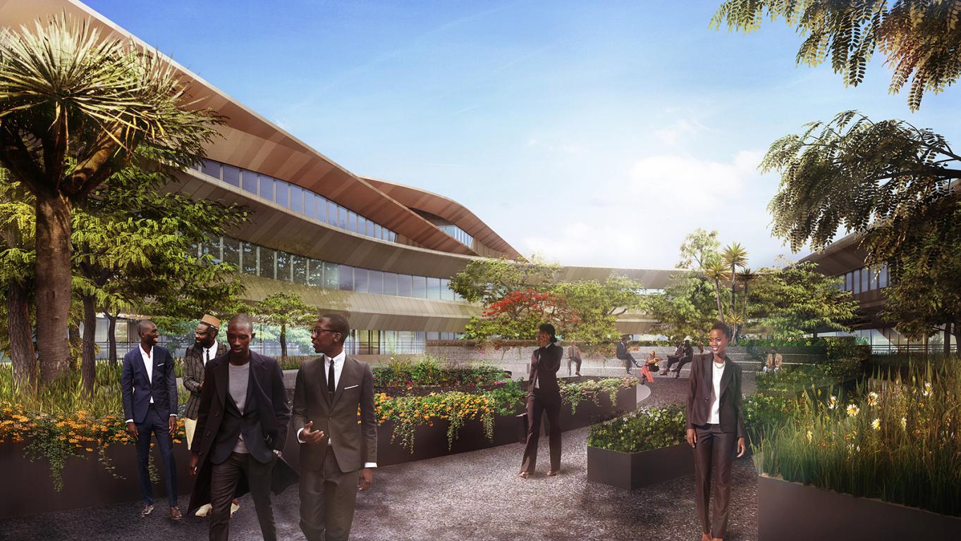 Botswana Innovation Hub Render_Shop Architects_2