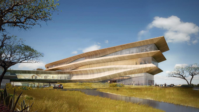Botswana Innovation Hub Render_Shop Architects