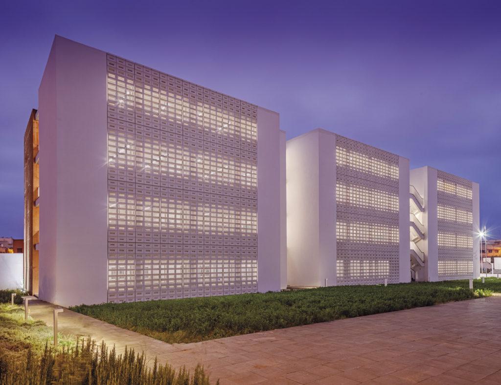 High School Building in Morocco