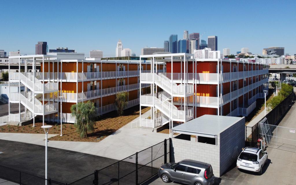 Homeless Housing Complex
