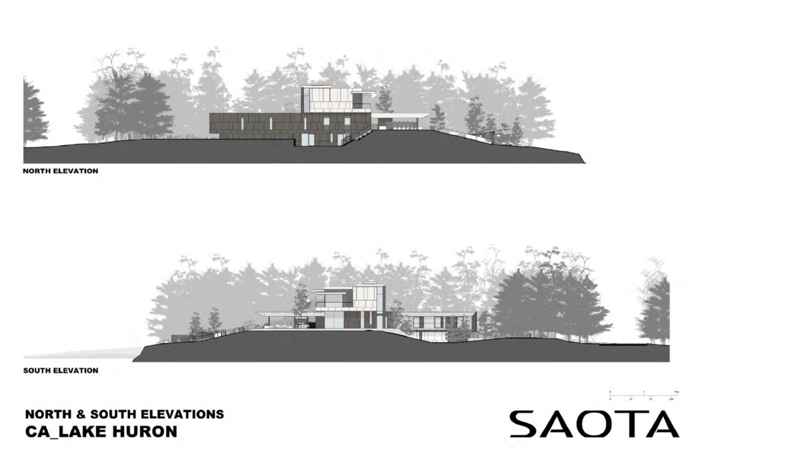 Lake Huron Summer House_SAOTA_Elevations_2